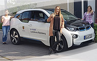 E-Carsharing in Strullendorf mit BMW i3